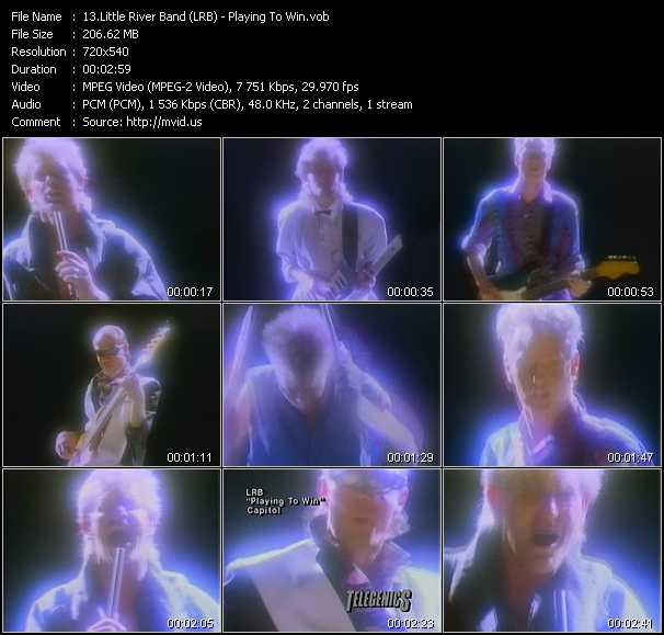 Little River Band (LRB) video screenshot
