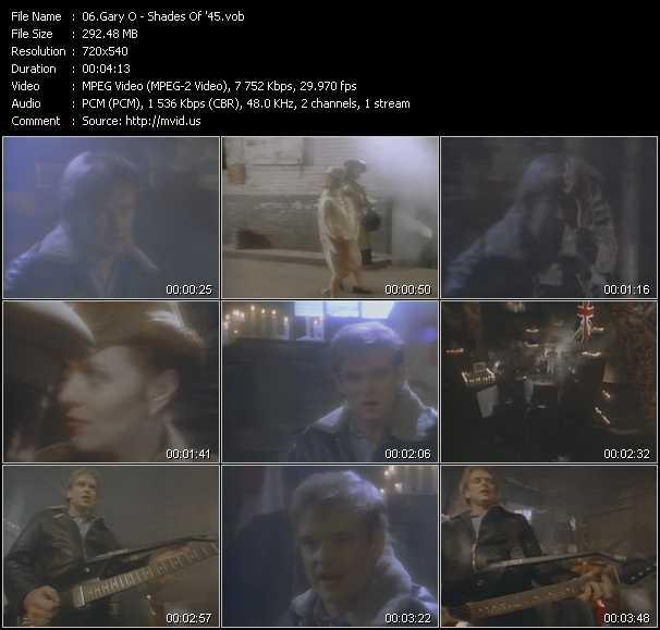 Gary O video screenshot