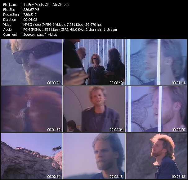 Boy Meets Girl video screenshot