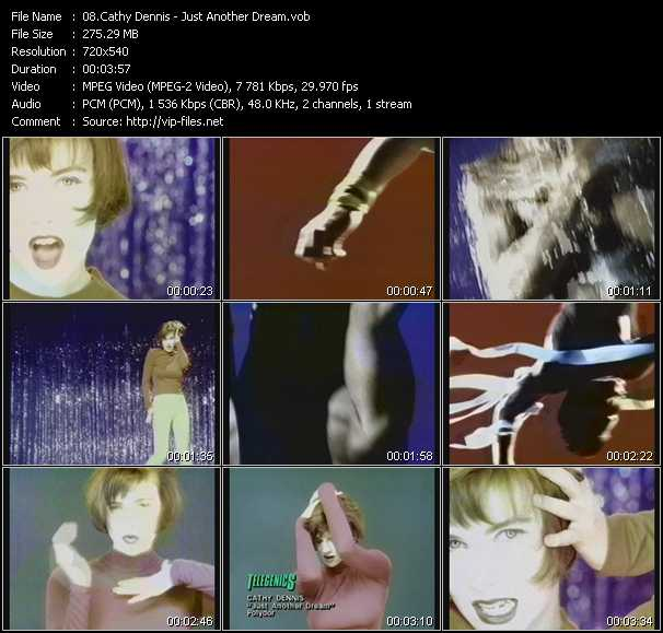 Cathy Dennis video screenshot