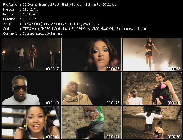 Dionne Bromfield Feat. Tinchy Stryder video screenshot