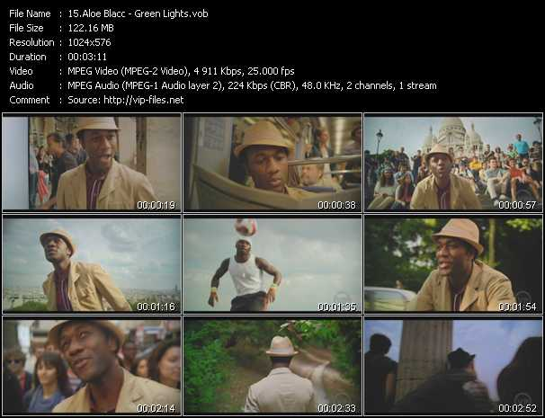 Aloe Blacc video screenshot