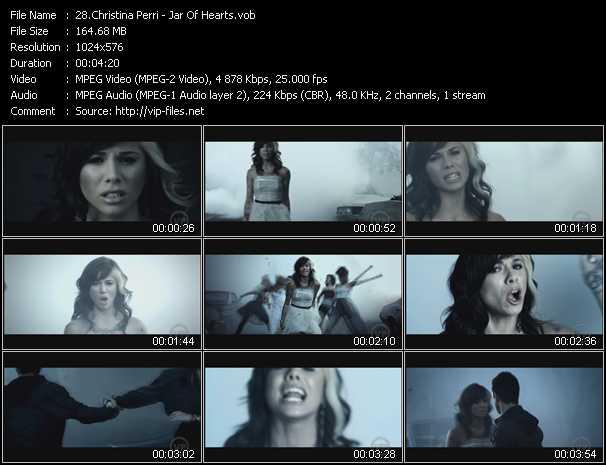 Christina Perri video screenshot