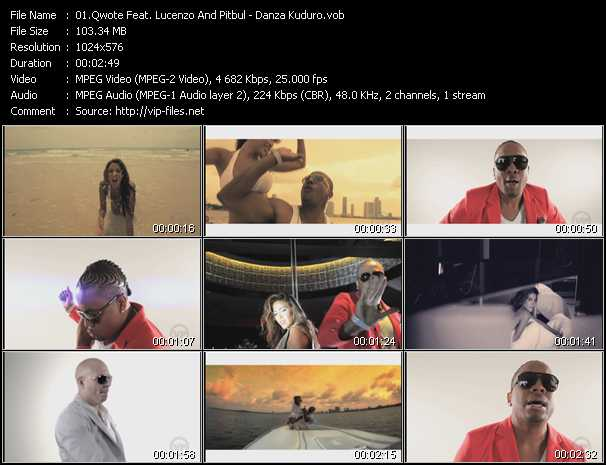 Qwote Feat. Lucenzo And Pitbull video screenshot