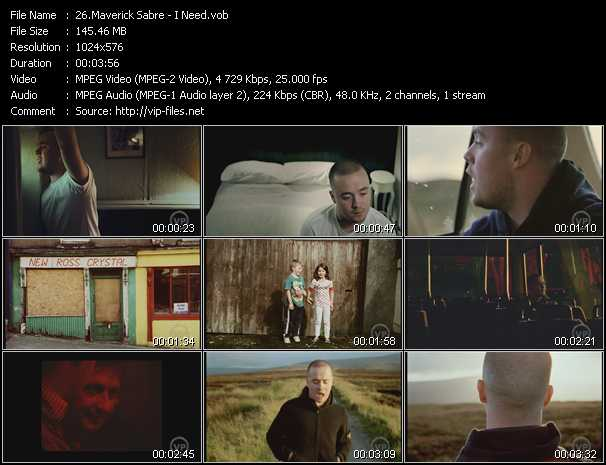 Maverick Sabre video screenshot