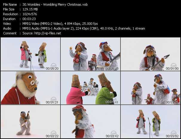 Wombles video screenshot