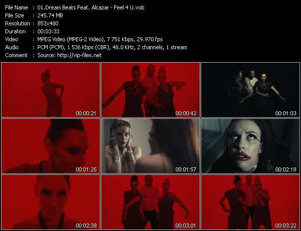 Dream Beats Feat. Alcazar video screenshot