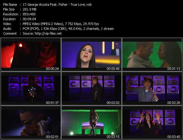 George Acosta Feat. Fisher video screenshot