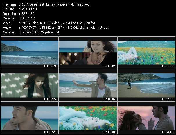 Arsenie Feat. Lena Knyazeva video screenshot