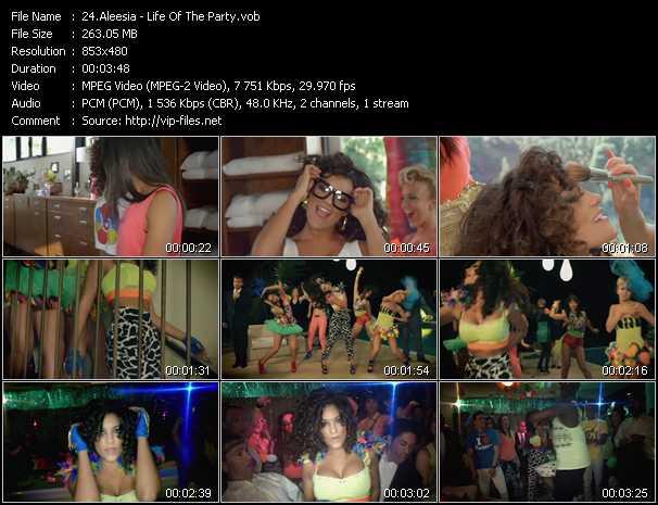 Aleesia video screenshot