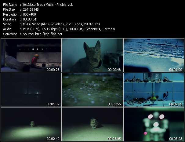 Disco Trash Music video screenshot