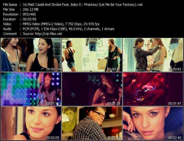 Matt Caseli And Strobe Feat. Baby D video screenshot