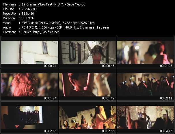 Criminal Vibes Feat. N.U.M. video screenshot