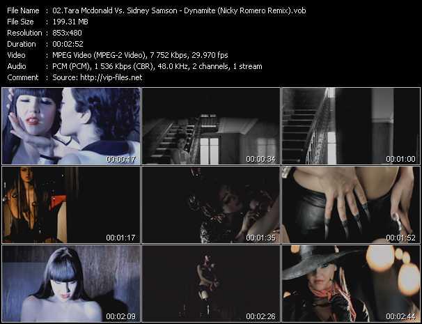 Tara Mcdonald Vs. Sidney Samson video screenshot