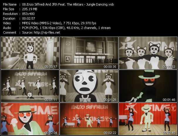 Enzo Siffredi And Jfth Feat. The Allstars video screenshot
