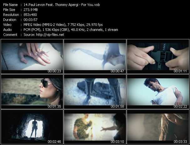 Paul Levon Feat. Thommy Apergi video screenshot