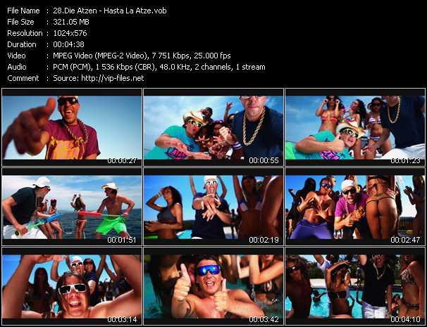 Die Atzen video screenshot