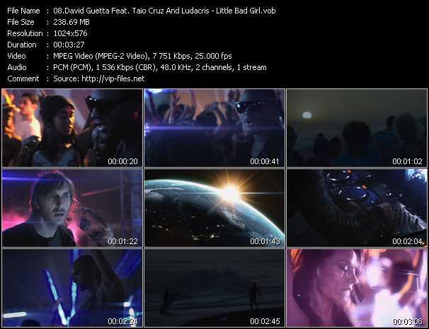 David Guetta Feat. Taio Cruz And Ludacris video screenshot