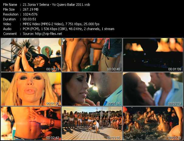 Sonia Y Selena video screenshot