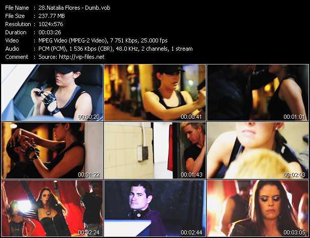 Natalia Flores video screenshot