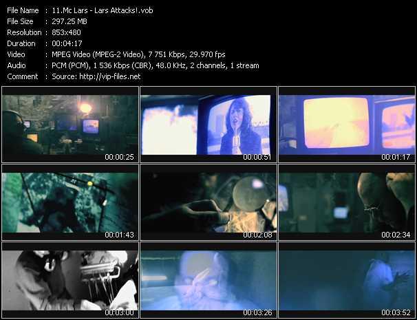 Mc Lars video screenshot