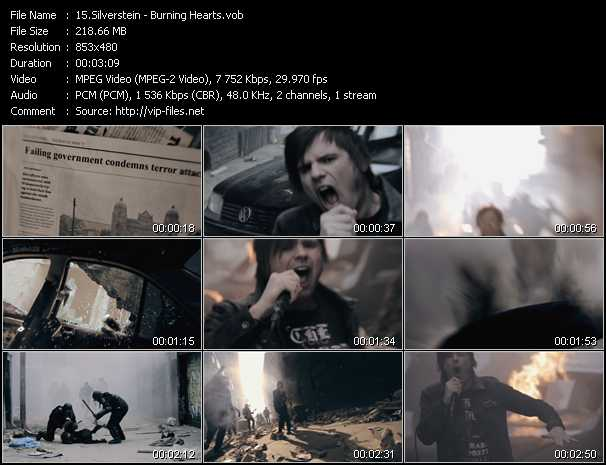 Silverstein video screenshot