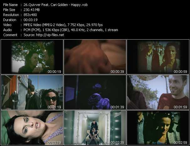 Quivver Feat. Cari Golden video screenshot