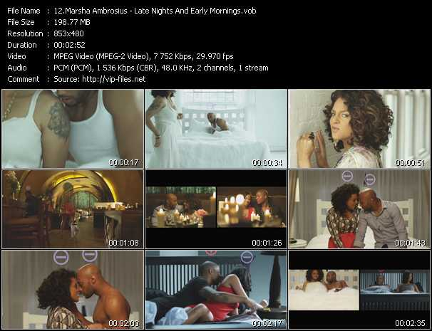 Marsha Ambrosius video screenshot