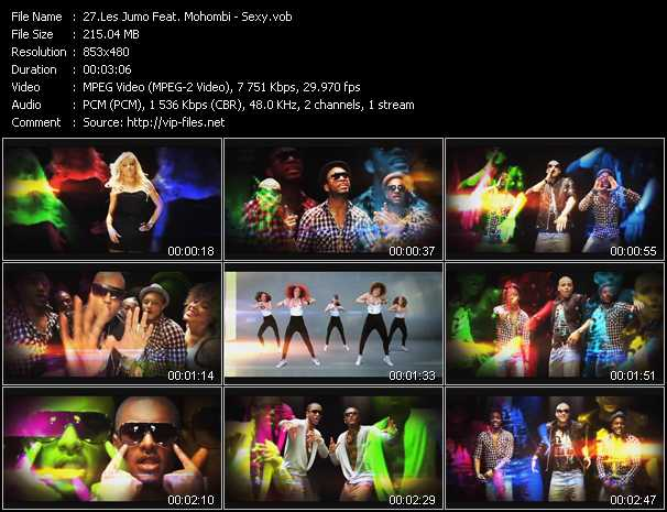 Les Jumo Feat. Mohombi video screenshot