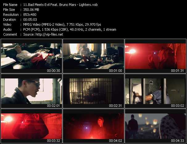 Bad Meets Evil Feat. Bruno Mars video screenshot