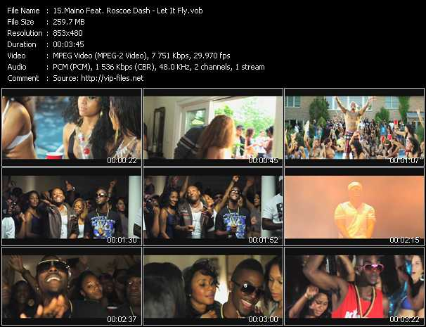 Maino Feat. Roscoe Dash video screenshot