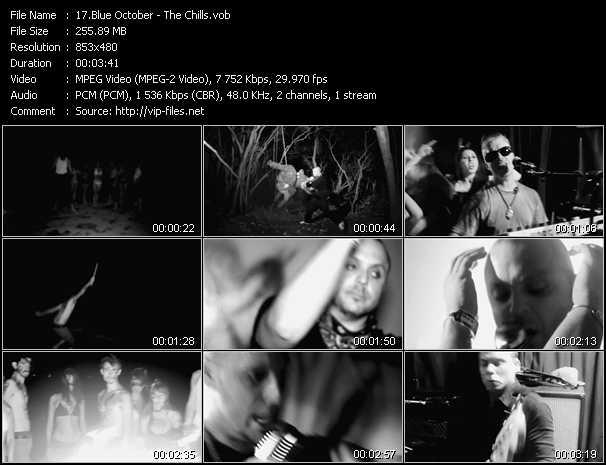 Blue October video screenshot