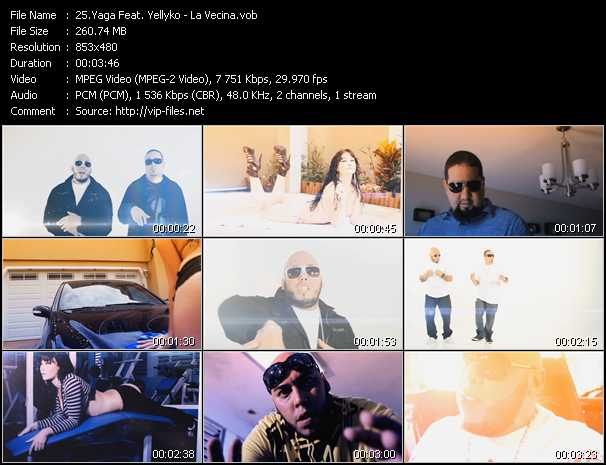 Yaga Feat. Yellyko video screenshot