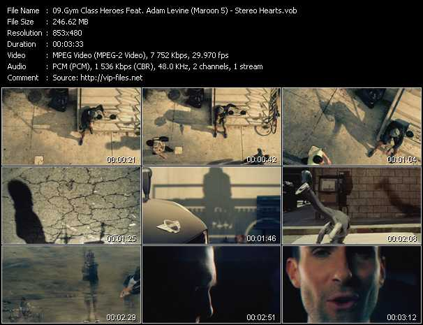 Gym Class Heroes Feat. Adam Levine (Maroon 5) video screenshot