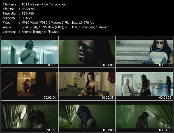 Lil' Wayne video screenshot