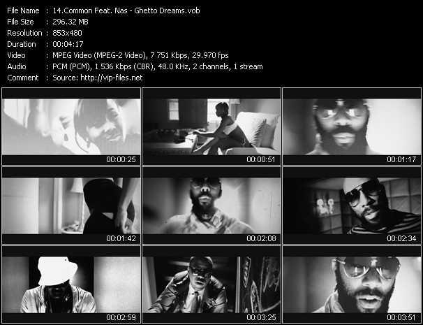 video Ghetto Dreams screen