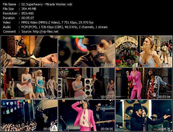 SuperHeavy (Mick Jagger, Joss Stone, A.R. Rahman, Dave Stewart And Damian Marley) video screenshot
