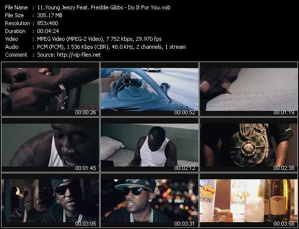 Young Jeezy Feat. Freddie Gibbs video screenshot