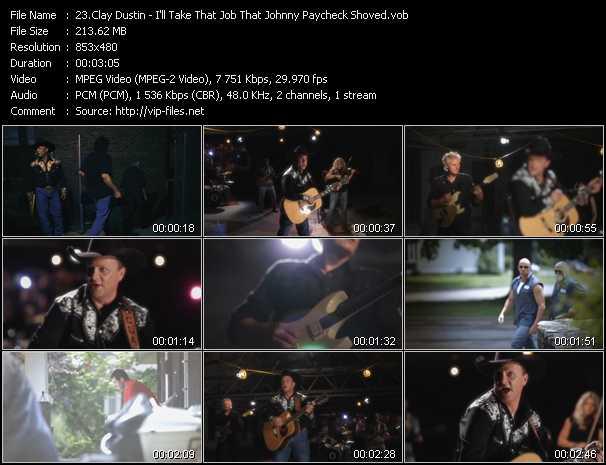 Clay Dustin video screenshot