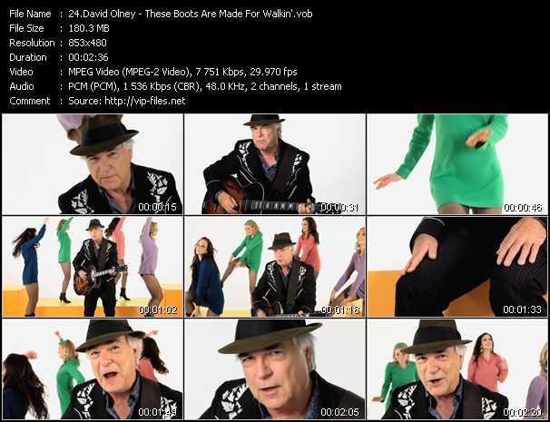 David Olney video screenshot