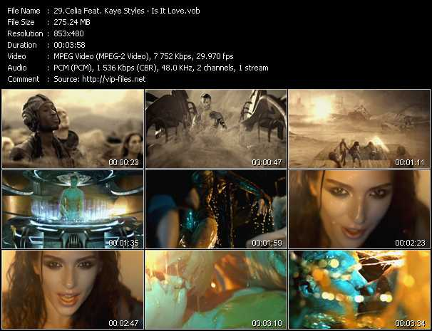 Celia Feat. Kaye Styles video screenshot