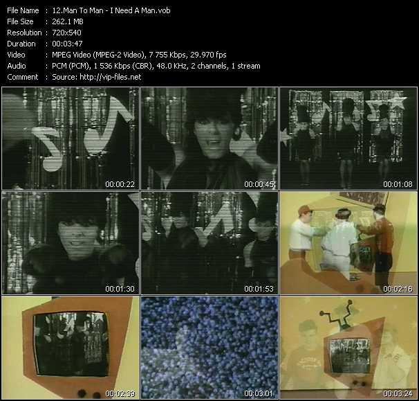 Man To Man video screenshot