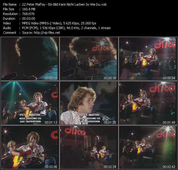 Peter Maffay video screenshot