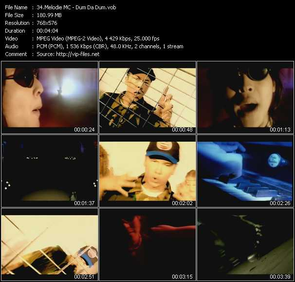 Melodie MC video screenshot