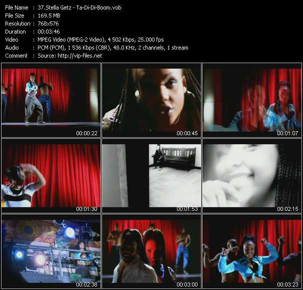 Stella Getz video screenshot
