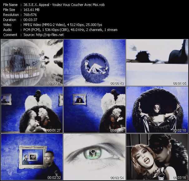 S.E.X. Appeal video screenshot