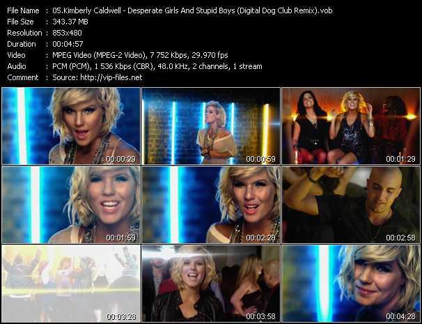 Kimberly Caldwell video screenshot
