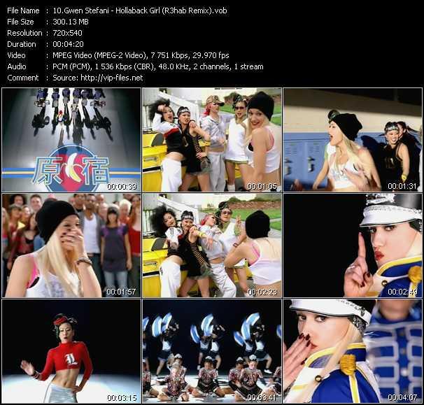 video Hollaback Girl (R3hab Remix) screen