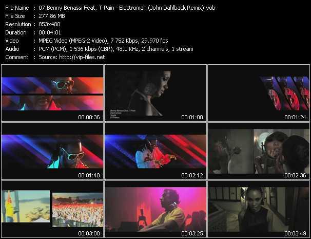 video Electroman (John Dahlback Remix) screen