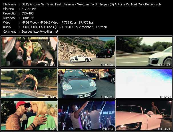 Dj Antoine Vs. Timati Feat. Kalenna video screenshot
